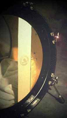 Slug Percussion Muffelt Bass Drum Felt Dampener
