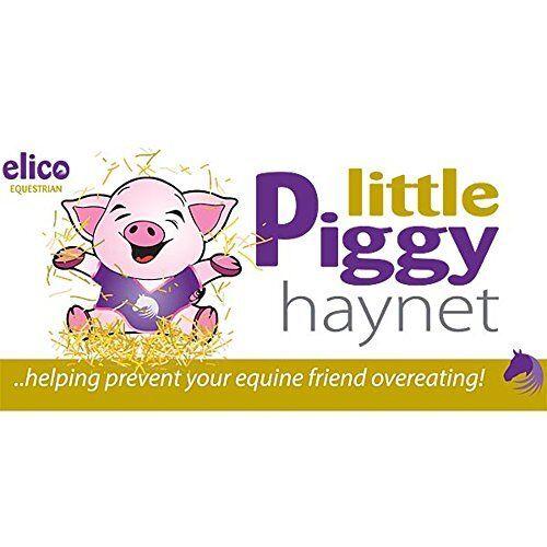 Standard Size Haylage Net Pink Elico Little Piggy Haynet