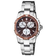 Victorinox Alliance Quartz Movement Brown Dial Ladies Watch 241502