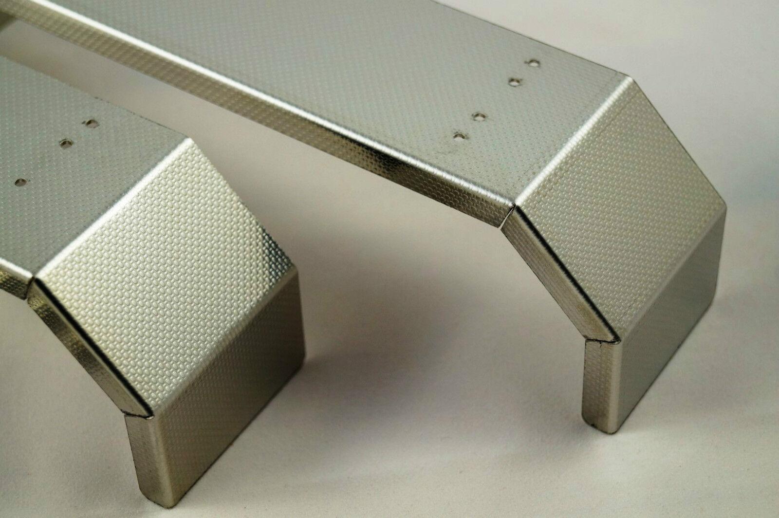 1/14 PARAFANGO per 4 asse per TAMIYA CAMION chassis-INOX
