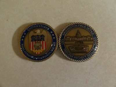 CHALLENGE COIN US NAVAL CRIMINAL INVESTIGATIVE SERVICE WASHINGTON FIELD OFFICE