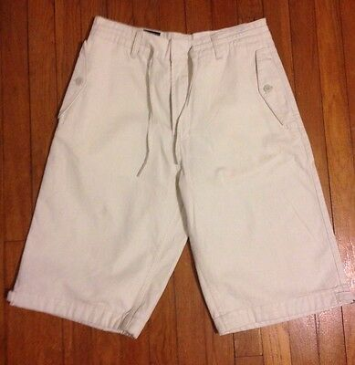 NWT Tommy Hilfiger Cotton Khaki Long Mens Shorts 30 $59