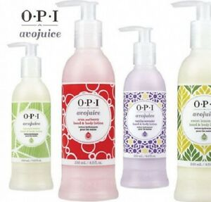 OPI-Avojuice-Skin-Quenchers-Hand-amp-Body-Lotion-250ML-NEW-DESIGN-FOR-2015