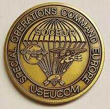 SOCEUR USEUCOM Special Operations Europe Headquarter Coin Circa 1995