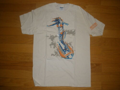 NEW MENS HOOTERS *GIRL SURFING COTTON STRETCHY T-SHIRT CHICAGO SIZE M,L,XL,XXL