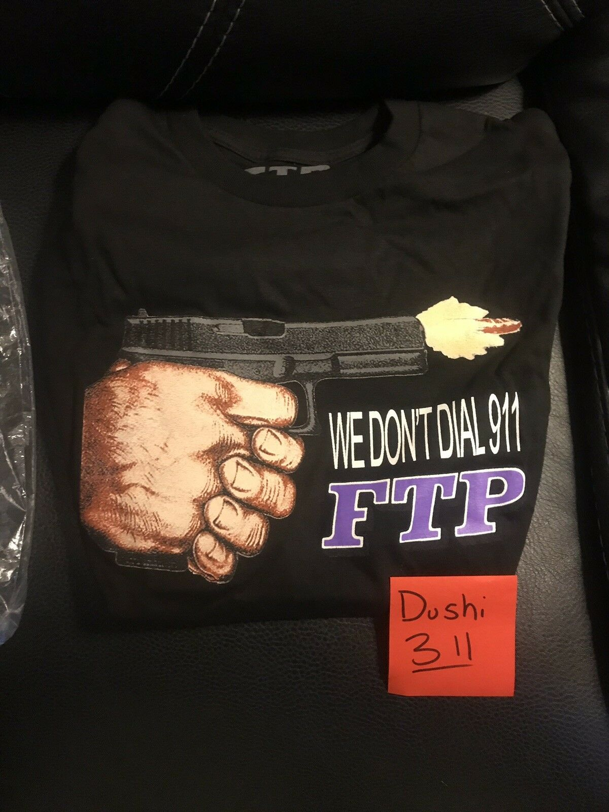 FTP Gunner T Shirt Small Rare Complexcon-Supreme-100% DS- Bogo Crew