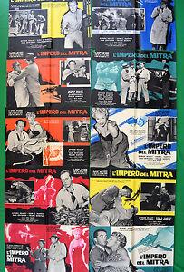 G67-Lot-Fotobusta-L-039-Impero-Der-Gehrungssaege-Al-Capone-Dillinger-Scarface-Omar