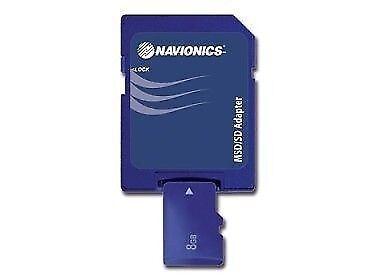 Navionics pequeñas de Oro Msd Tarjeta-Tabla-Mapa-Con Adaptador Sd-Micro Sd