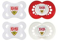 MAM Schnuller Original Silikon VfB Stuttgart 0-6 o. 6-16 Doppelpackung *NEU*