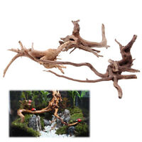 Natural Tree Trunk Driftwood Aquarium Fish Tank Plant Wood Decoration Ornament