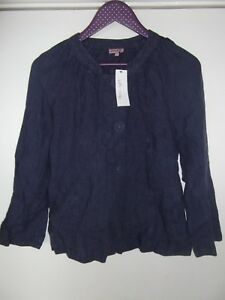 Blouse Eight Uk Ladies 8 Phase con Nuovo Blue tag vwBntp