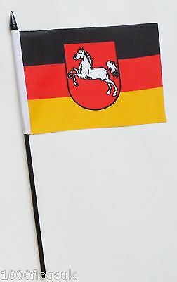 Germany Baden Wurttemberg State Small Hand Waving Flag Germany Collectables