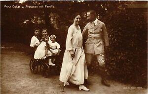 CPA-AK-Prinzenpaares-Oskar-v-Preussen-Familie-GERMAN-ROYALTY-867968