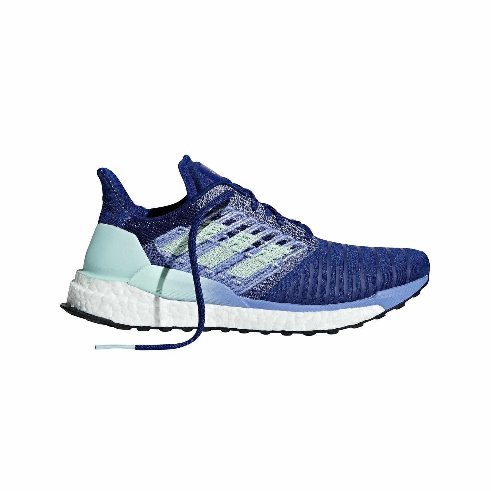 Adidas Performance Damen Freizeit-Lauf-Schuh Solar Boost W blau Running BB6602