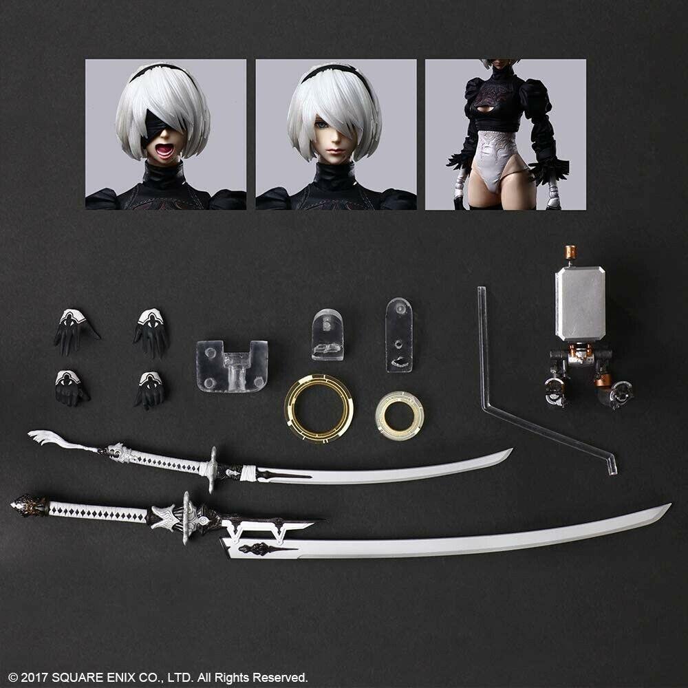 DX Edition Square Enix Details about  /PRE NieR:Automata PLAY ARTS Kai YoRHa No.2 Type B 2B