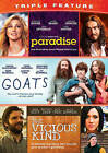 Paradise/Goats/Vicious Kind (DVD, 2015)