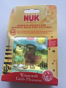 NEW NUK Baby Janosch Bath Time Wonnewelt  Little Pleasures Bath book toys