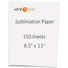 Htvront Us 150 Sheets Heat Sublimation Transfer Paper 85x11 For Mug Cup T Shirt