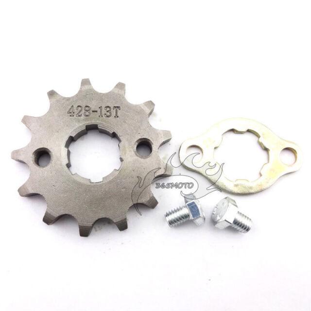 428 13 T 20mm Front Engine Sprocket Gear For Pit Dirt Bike CRF XR 50 70 KLX TTR