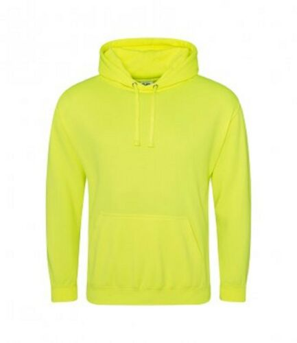 Men AWDis Electric Polyester Hoodie Unisex Hooded Front pouch pocket Sweatshirt