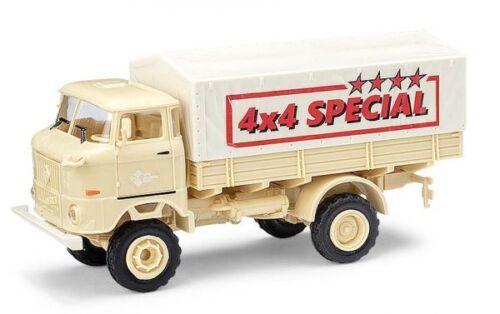 """NUOVO Busch 95230-1//87//h0 IFA w50 la PV colori sabbia/"""" 4x4 SPECIAL/"""""""