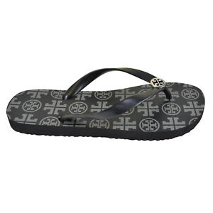 ffd96a95434c Image is loading NEW-Tory-Burch-T-Logo-Flip-Flops-in-