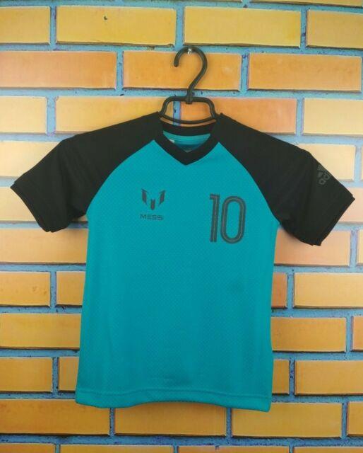 Messi adidas Football Jersey Kids 11-12 Years 2017 Shirt CD4215 ...