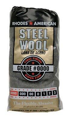 Rhodes American Steel Wool Fine No. 0000 Case of 6