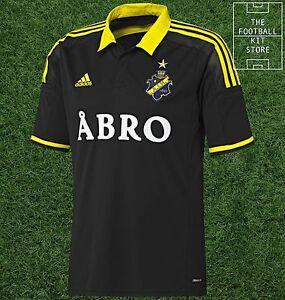 Detalles de AIK Estocolmo Home Camisa Oficial Adidas Rara Camiseta de fútbol hombres todos Los Tamaños ver título original