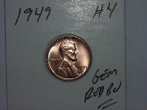 1949  LINCOLN WHEAT CENT  #8
