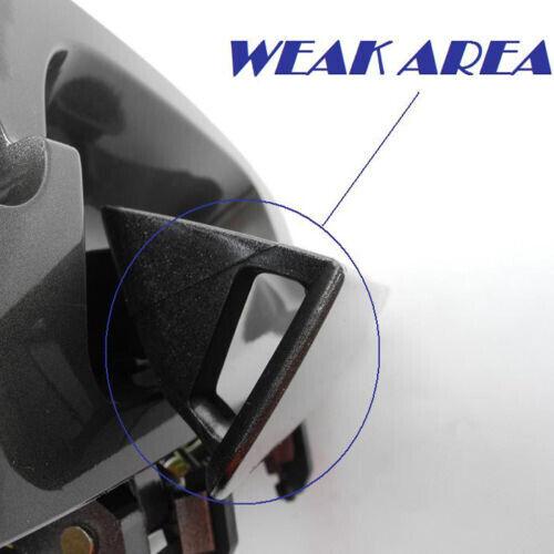 Front Pair NoMoreBreaking Outside Door Handle For 02-06 Nissan Altima 2.5L 3.5L