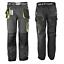 Pantaloni-da-Lavoro-Abbigliamento-Occupazione-Impermeabili-Grigio-48-60-Misura miniatura 1