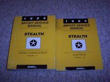 1994 Dodge Stealth Factory Shop Service Repair Manual Set R/T Twin Turbo 3.0L V6