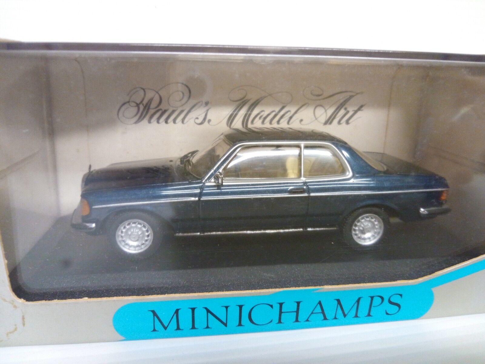 MINICHAMPS 1 43 MERCEDES W123 COUPE 280 CE