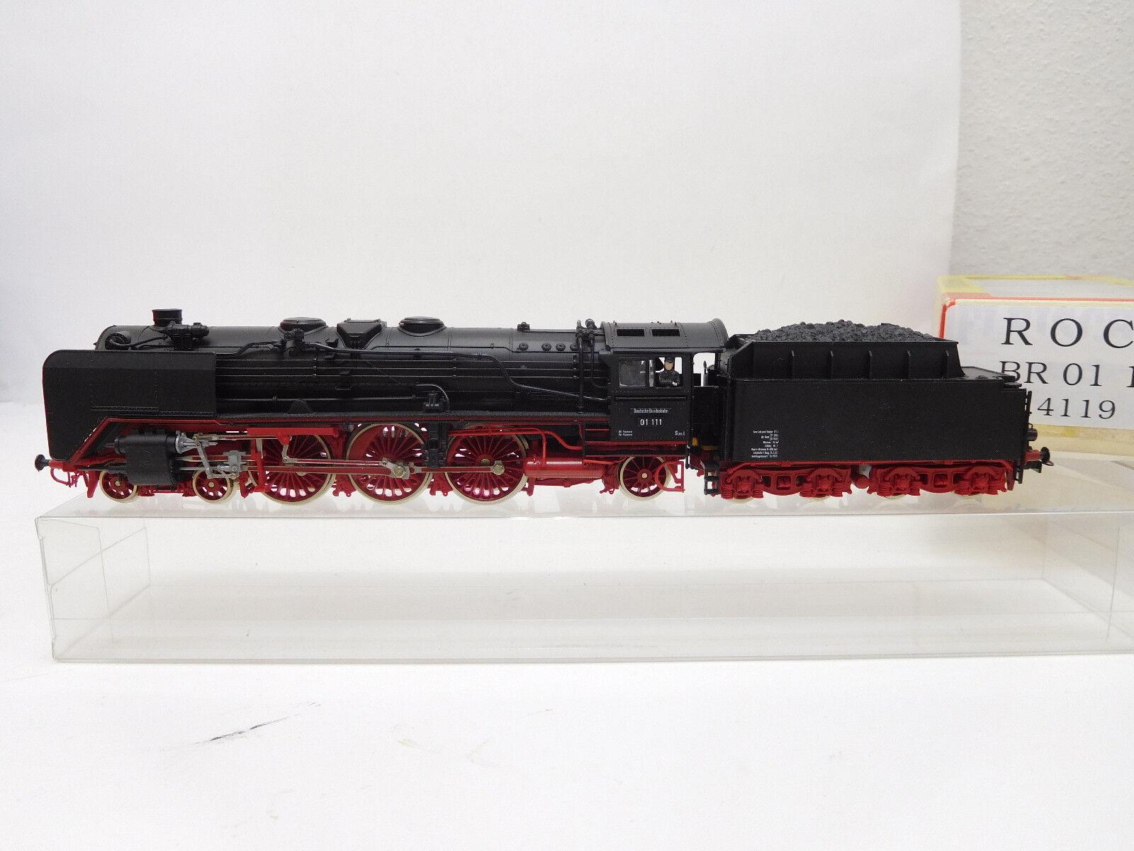 Máquinas de vapor de mes - 52531 roco 4119 4119 4119 H0 DB 01 111 vgc, prueba de funcionamiento 380