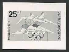 BUND FOTO-ESSAY OLYMPIA 1972 HÜRDENLAUF OLYMPICS PHOTO-ESSAY PROOF e216