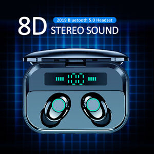 TWS-Bluetooth-5-0-Headset-Wireless-Earphones-Mini-Earbuds-Stereo-Headphones-IPX7
