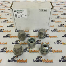 Land Rover Discovery TD5 Set of 4 Locking Alloy Wheel Nuts & Covers - OEM Parts