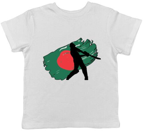 Bangladesh Cricket Boys Girls Kids Childrens T-Shirt Tee