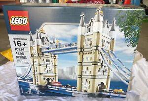 Lego Creator Tower Bridge Of London Set 10214 Sealed In Box Ebay