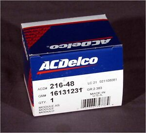 Details about * NEW ACDelco 216-48, OEM GM CHEVROLET 16131231 Electronic  Spark Control Module