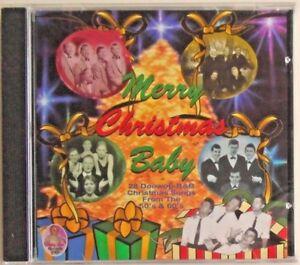 179c107cc63c MERRY CHRISTMAS BABY - CD - 28 Doowop-R B Christmas Songs 50 s 60 s ...