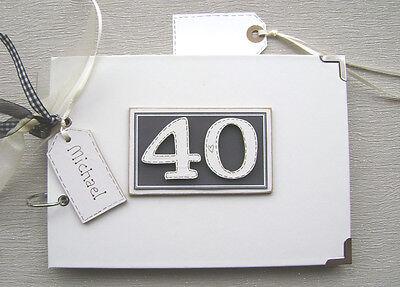 Personalizado 18 años Foto album/scrapbook/memory Libro. A5 Tamaño.