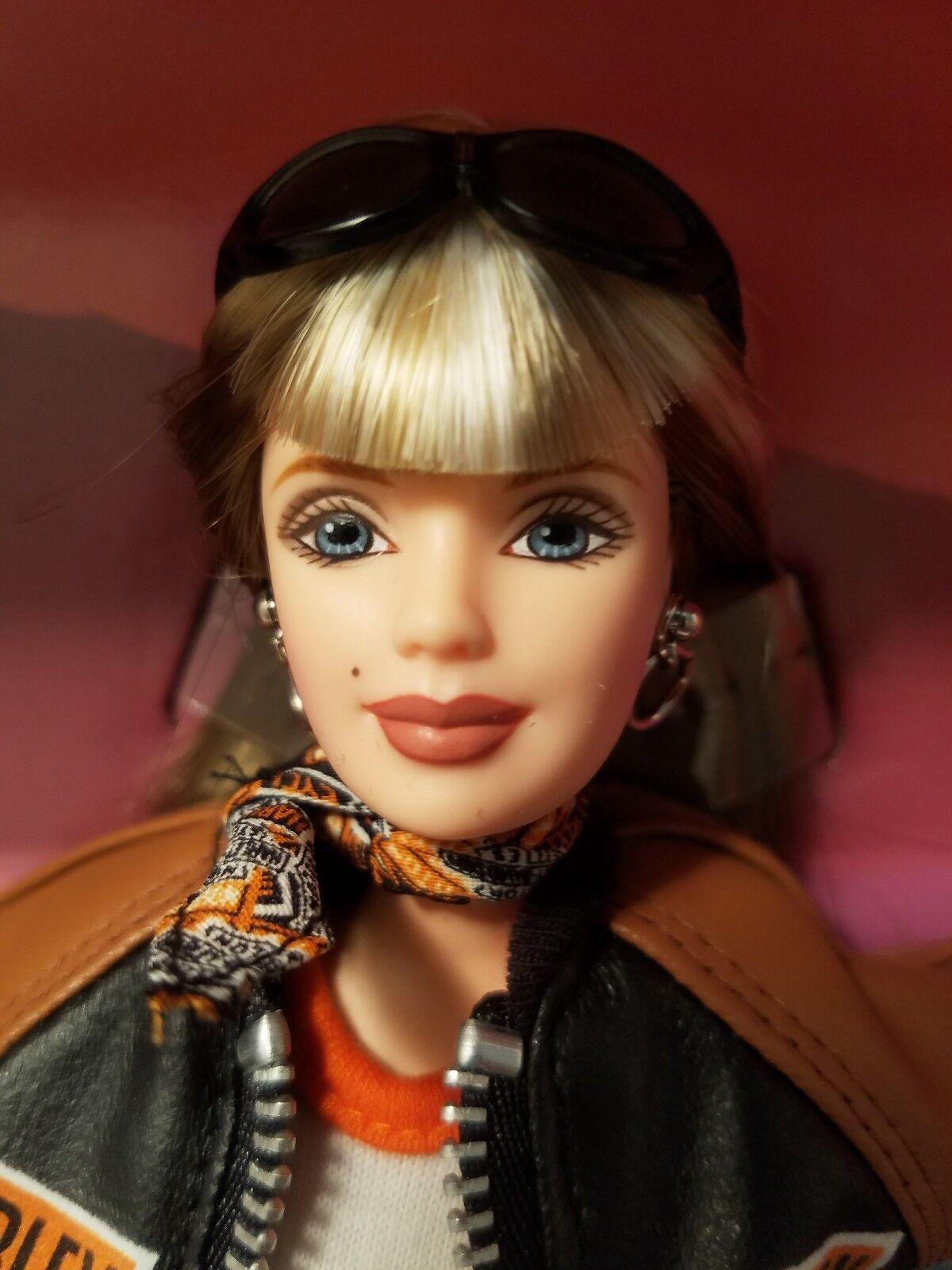 Harley Davidson Barbie 1999 Toys R Us Exclusive Rubia En Perfecto Estado