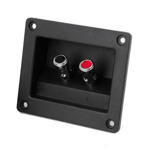 2pcs Speaker Box Push Spring Type Binding Post Terminal Connector N3
