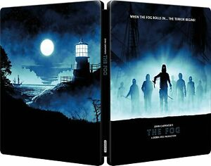 THE FOG 4K UHD COLLECTORS EDITION STEELBOOK (3-DISC SET)  WORLDWIDE SHIPPING