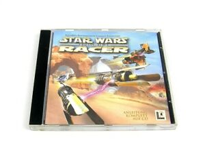 Star Wars episodio I Racer | PC CD-ROM | LucasArts | jewelcase | disc muy bien