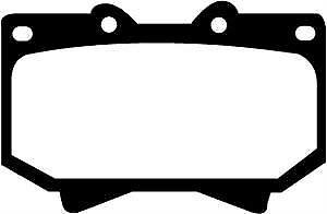 DP41319R EBC Yellowstuff Front Brake Pads fit TOYOTA Landcruiser