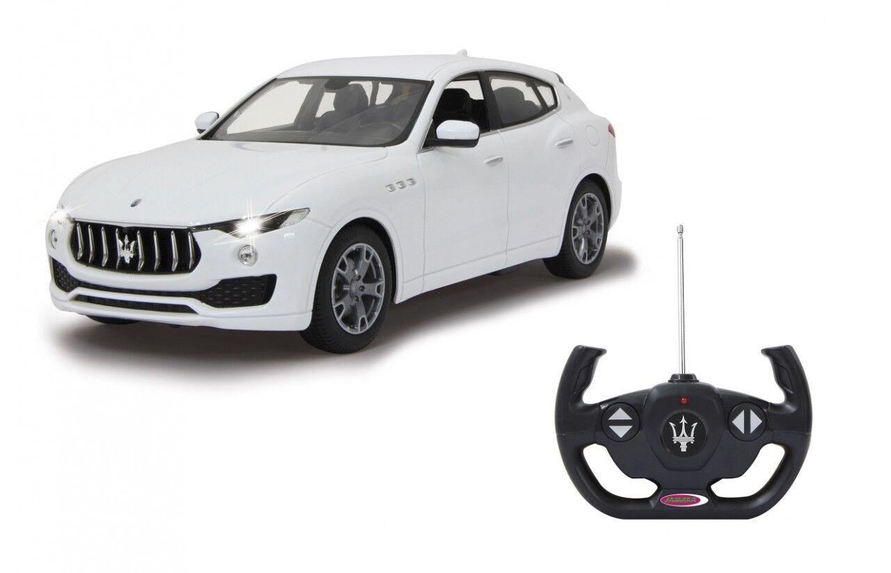 Jamara 405144 Maserati Levante 1:14 weiß 40 MHz