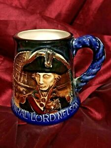 Admiral-Lord-Nelson-Great-Yarmouth-Potteries-Hand-Crafted-Tankard